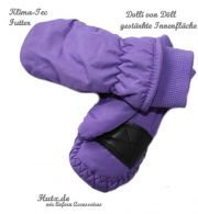 Kinder Fausthandschuhe Thermo KLIMATEC lila
