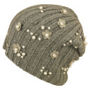 Seeberger Flowered Pearls Headsock