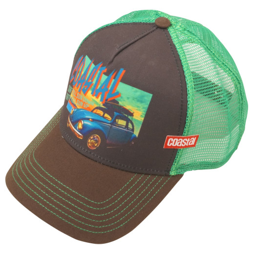 Coastal Trucker Cap Sun Down