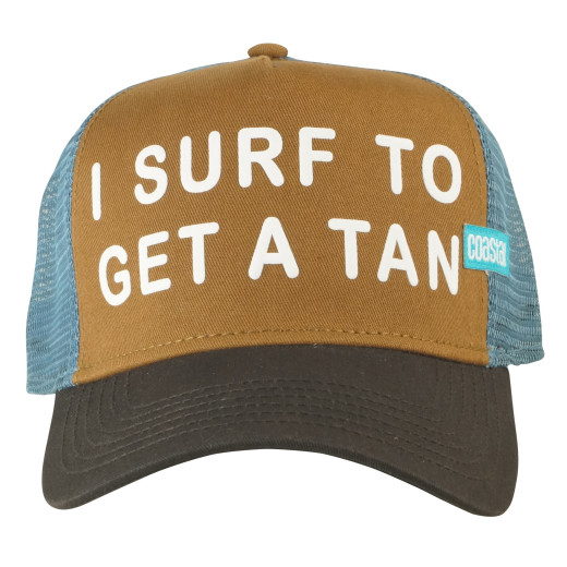 Coastal Trucker Cap Get A Tan
