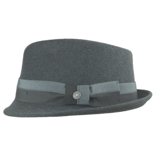 Bugatti TwoTone Crushable Ribbon Trilby