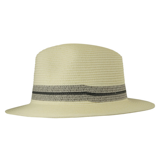 Thin Doubled Lines Papierstroh Fedora
