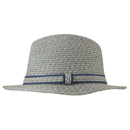 Spinned Lines Papierstroh Fedora