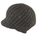 Seeberger Alpaka Strickcap Multiple Zac grau