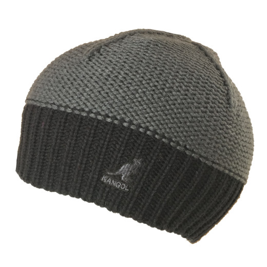 Kangol Pull on Beanie grey black