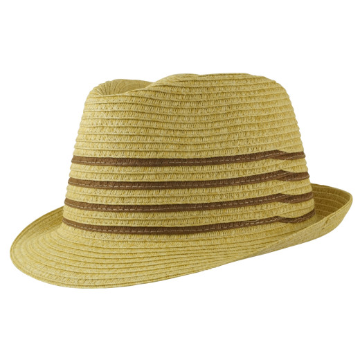 Contrast Line Unisex Trilby
