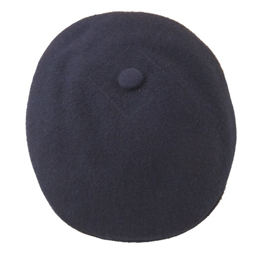 Kangol Worsted Wool Flatcap navy
