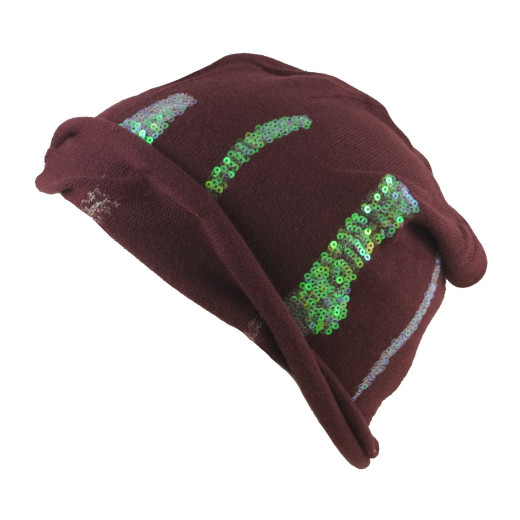 Seeberger Pailletten Rim Headsock