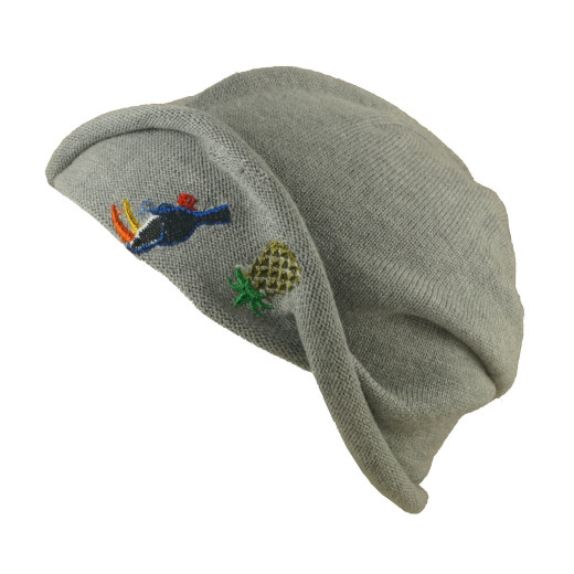 Seeberger Pelikan Applikation Longbeanie