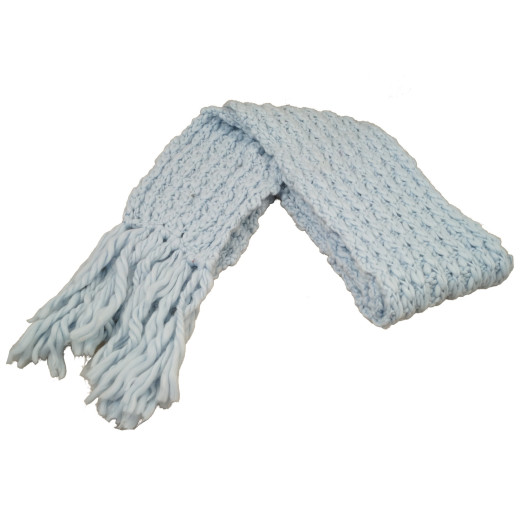 Wollmix Winterschal Simplify light blue