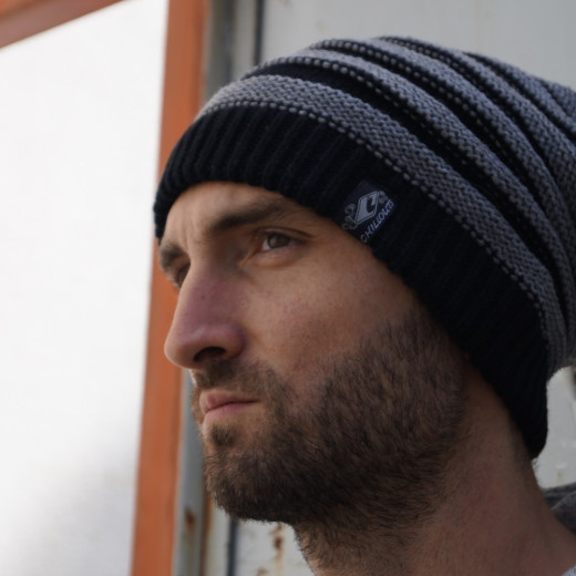 ChillOuts Long-Beanie Brian striped