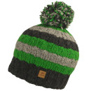 Chillouts Striply Fine Wool Bommelbeanie