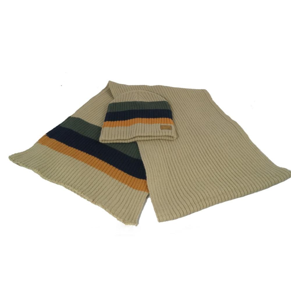 bugatti herren winterset schal m tze dio beige. Black Bedroom Furniture Sets. Home Design Ideas