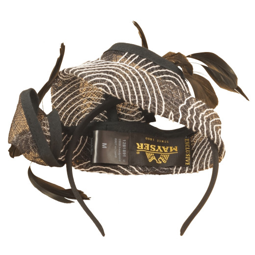 Mayser Fascinator Retro-Stil