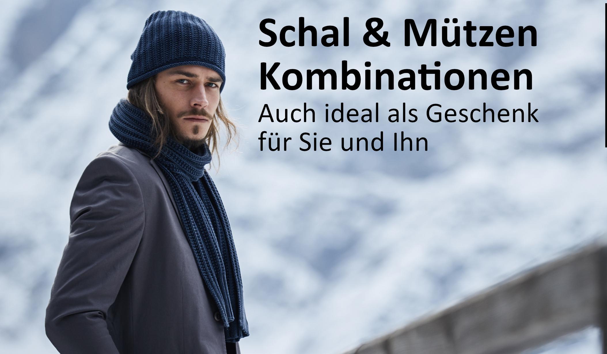 Wintersets aus Mützen & Schal